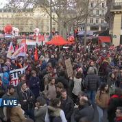 Grève: revivez la manifestation du 17 décembre à Paris en intégralité