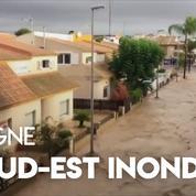 Espagne : inondations mortelles dans le sud-est du pays
