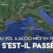 Que s'est-il passé lors du crash du vol Ajaccio-Nice en 1968 ?