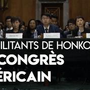 Les militants de Hongkong plaident leur cause devant le Congrès américain