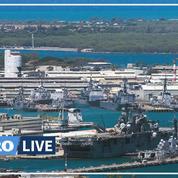 Hawaï: trois morts dans une fusillade sur la base navale de Pearl Harbor