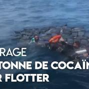 Colombie : secourus en mer, des narco-traficants ont survécu en s'accrochant à des sacs de cocaïne
