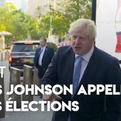 Brexit : Boris Johnson appelle à des élections après la décision de la Cour suprême