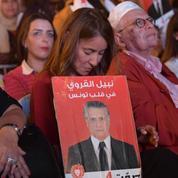 Tunisie : l'épouse de Nabil Karoui, incarcéré, fait campagne à sa place