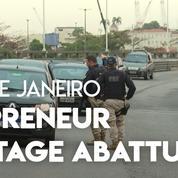 Prise d'otage à Rio de Janeiro : l'individu armé abattu