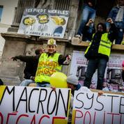 Anniversaire des «gilets jaunes» : les images du rassemblement aux Halles à Paris