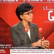 Pour Rachida Dati, Philippe Goujon «est le soutien indirect d'Anne Hidalgo»