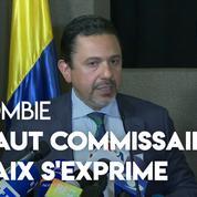 Colombie : le haut commissaire de paix estime que Maduro soutient les ex-chefs Farcs