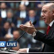 Erdogan menace de frapper «partout» le régime syrien