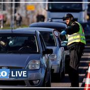 Coronavirus: les contrôles frontaliers commencent entre la France et l'Allemagne