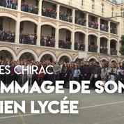 Jacques Chirac : l'hommage de son ancien lycée à Paris