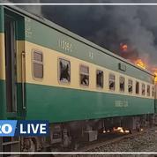 Pakistan: au moins 65 morts dans un violent incendie à bord d'un train