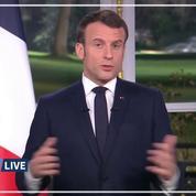 2020: revivez les vœux d'Emmanuel Macron