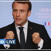 Les moments forts du discours de Macron devant la communauté française d'Israël