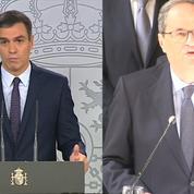 Indépendantistes catalans condamnés : Sanchez veut «une nouvelle étape», Torra dénonce des peines «injustes»