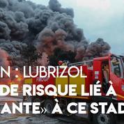 Rouen : «Pas de risque lié à l'amiante», d'après les premières analyses