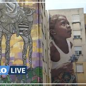 Portugal: le street-art fait renaître une cité en difficulté à Lisbonne
