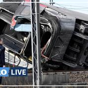 Un train déraille près de Milan: les images après l'accident