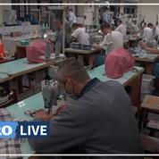 Masques, cercueils: face aux pénuries, des détenus mis à contribution