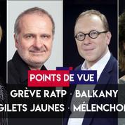 Points de vue du 13 septembre : grève RATP, Balkany,