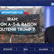 Iran: Macron a-t-il raison de soutenir Trump?
