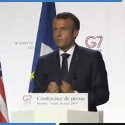 Taxe Gafa : Macron affirme avoir trouvé «un bon accord» avec Donald Trump