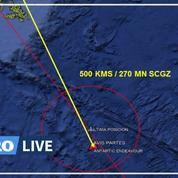 Chili: des débris de l'avion disparu ont été retrouvés en mer