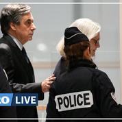 Procès Fillon: le couple arrive au tribunal correctionnel de Paris