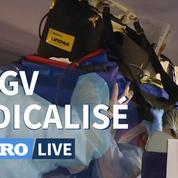 Coronavirus: comment se déroulent les transferts de malades en TGV médicalisé