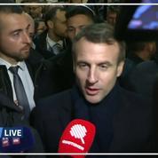 Emmanuel Macron s'explique sur son altercation à Jérusalem