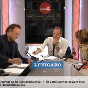 Isabelle Saporta était l'invitée de la matinale Radio Classique – Le Figaro du 28 août
