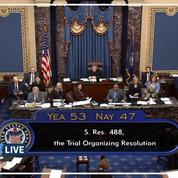 Impeachment: un pas de plus vers l'acquittement pour Donald Trump