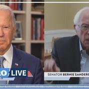 Présidentielle américaine: après son abandon, Sanders soutient officiellement Biden