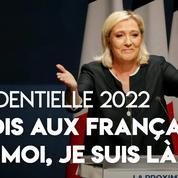 Présidentielle 2022 : «Si personne n'émerge, moi je suis là», annonce Marine Le Pen