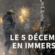 Au cœur de la manifestation du 5 décembre