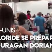 Floride : ruée et pénurie dans les magasins avant l'arrivée de l'ouragan Dorian