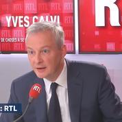 Urgences : «Il faut qu'on apporte un soutien immédiat», annonce Bruno Le Maire