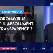 Coronavirus: faut-il absolument la transparence?