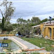 Arles: une tornade cause des dégâts impressionnants