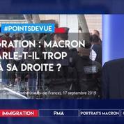 Immigration : Macron parle-t-il trop à sa droite ?