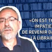François Bousquet, libraire : «Nous n'allons pas gendarmer les clients»