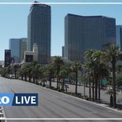 À Las Vegas, le silence et le vide dans la capitale mondiale du jeu