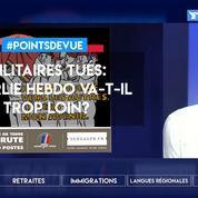 Militaires tués: Charlie Hebdo va-t-il trop loin?