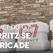 Sommet du G7 : Biarritz se barricade
