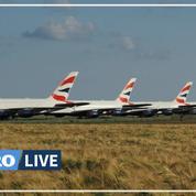 Coronavirus: des A380 «confinés» à l'aéroport de Châteauroux