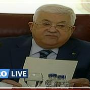 Mahmoud Abbas déclare rompre «toutes les relations» avec Israël et les États-Unis
