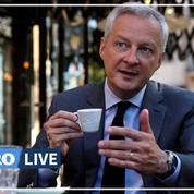 Bruno Le Maire: «Retourner au café et au restaurant est un moment de bonheur collectif»