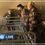 Coronavirus: les images de l'intérieur de l'hôpital de campagne à Mulhouse