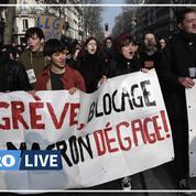 Retraites: les images de la manifestation du 24 janvier