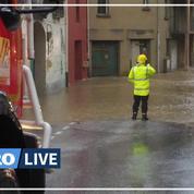 Gloria: après la tempête, les sinistrés s'attellent au nettoyage